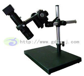 高景深单筒显微镜加小万向支架