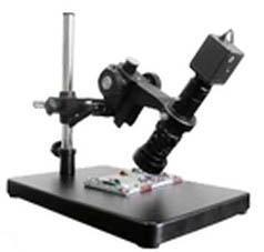 带万向支架的单筒显微镜