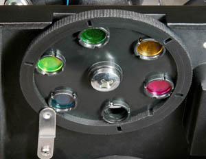 显微镜滤色片部位