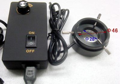 显微镜led光源正面图片
