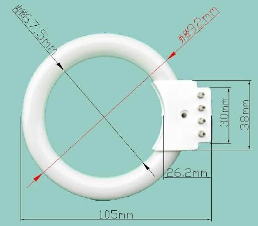 显微镜环形灯管图